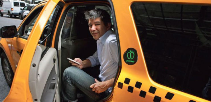 PDG UBER Travis Kalanick ruse Apple