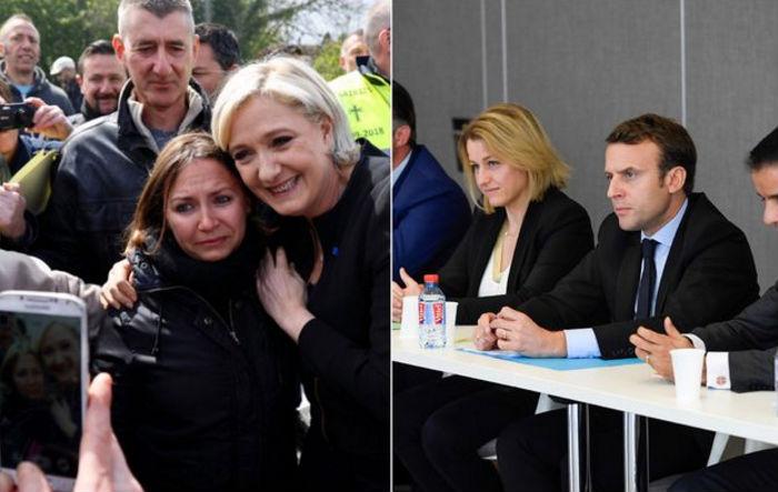 Marine Le Pen fait-elle une meilleure campagne qu'Emmanuel Macron — Whirlpool