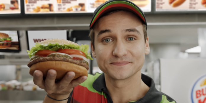 buzz spot publicitaire burger king