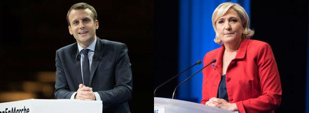 Macron - LePen