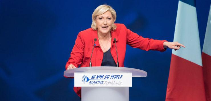 Plagiat discours FN Marine Le Pen