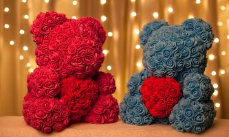 Ours en rose eternelle